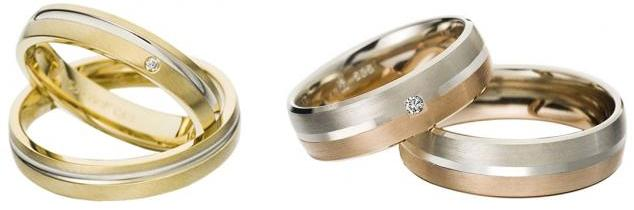 Mixing metals - the hottest wedding ring trend of 2014