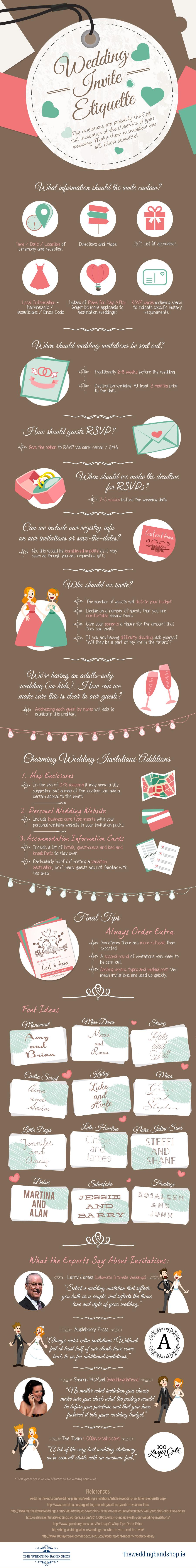 Create the perfect wedding invitation.