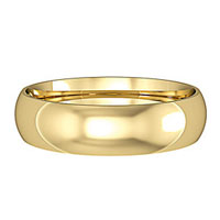 Classical Plain Wedding Rings