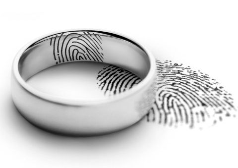 fingerprint laser engraving