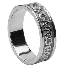 Celtic Palladium Wedding Rings