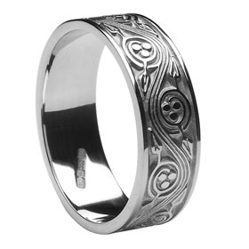 Celtic wedding rings are made in Ireland
