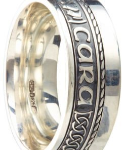 Sterling Silver 'Mo Anam Cara' Band
