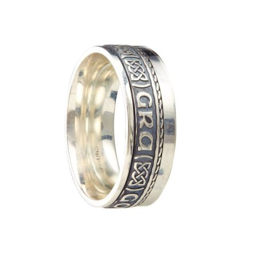 Sterling Silver 'Gra Go Deo' Ring
