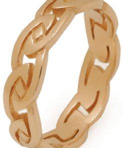 Heavy Gold Celtic Knot Wedding Ring