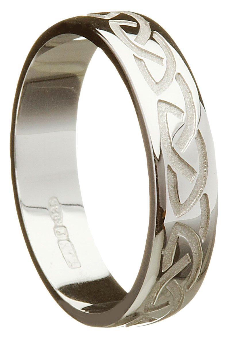 It is just an image of Handmade Gold Celtic Knot Wedding Ring
