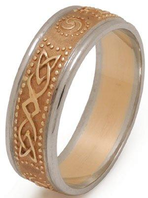 celtic shield ring