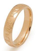 Love, Friendship, Loyalty Claddagh Wedding Ring