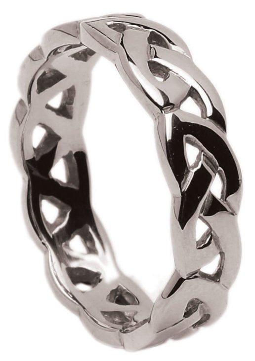 Gold Celtic Knot Wedding Ring
