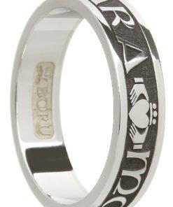Sterling Silver 'Mo Anam Cara' Ring