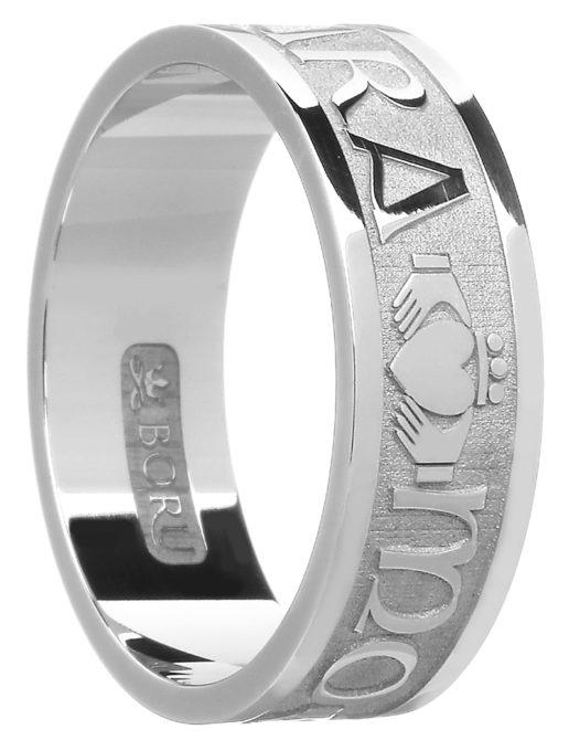 'Mo Anam Cara' Gold Celtic Wedding Ring