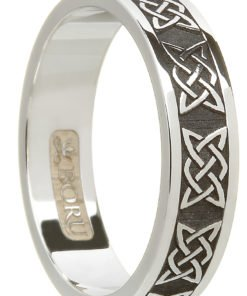 Silver Celtic Wedding Rings