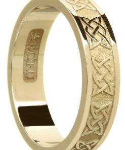 Celtic Lover's Knot Wedding Ring
