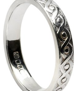 Sterling Silver Celtic Knot Continuity Band