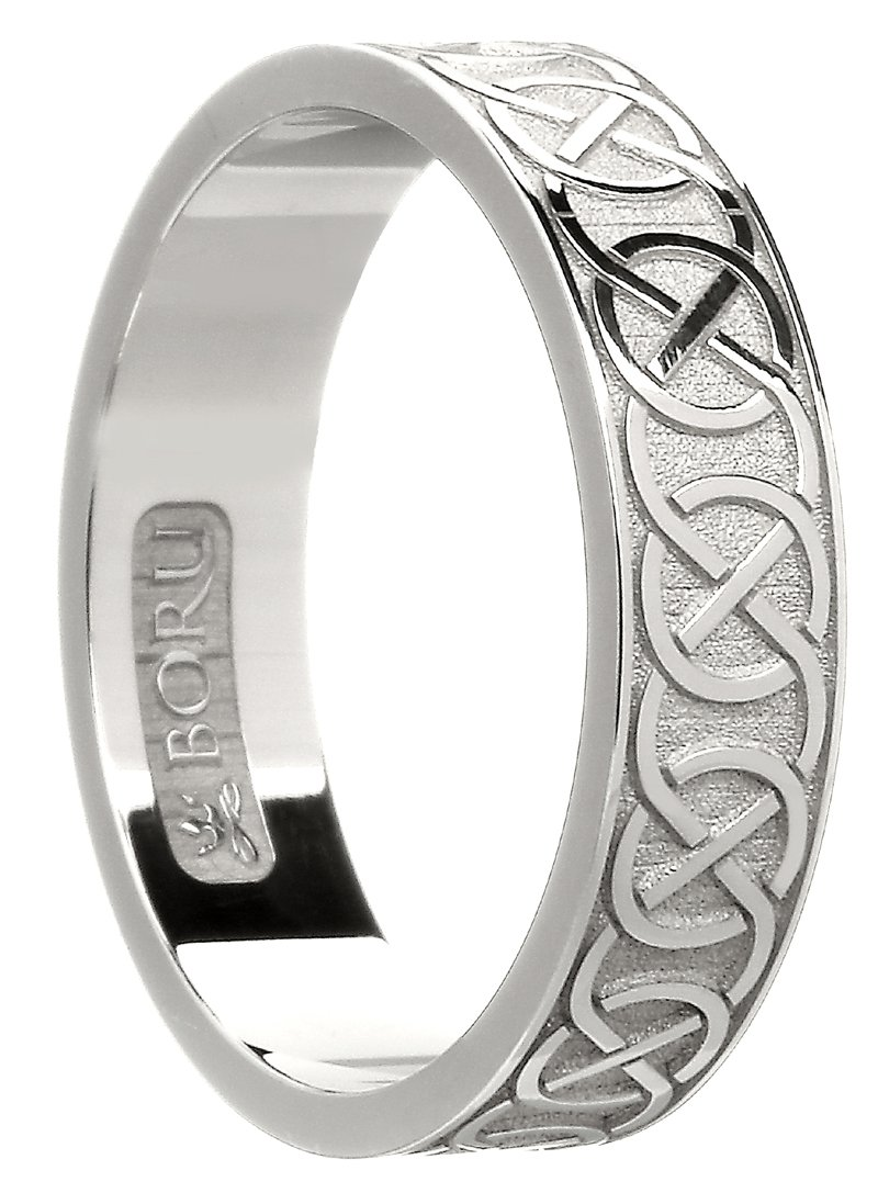 Sterling Silver Celtic Knot Band The Wedding Band Shop