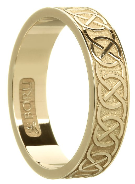 Closed Celtic Knot Wedding Ring