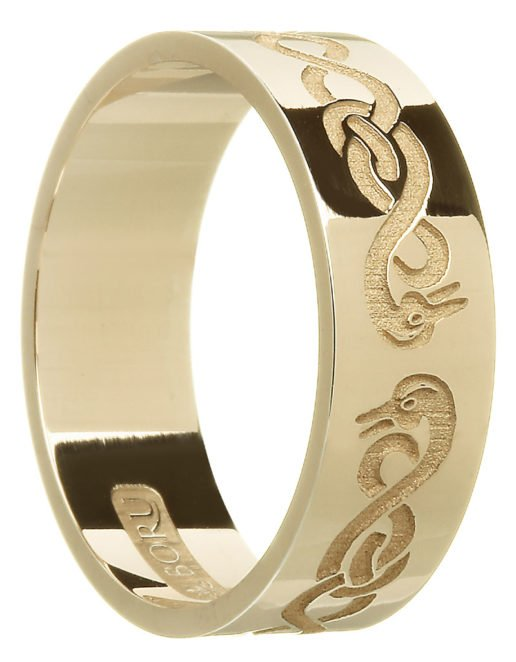 Gold 'Le Cheile' Wedding Ring