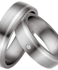 Beautiful Titanium Wedding Rings