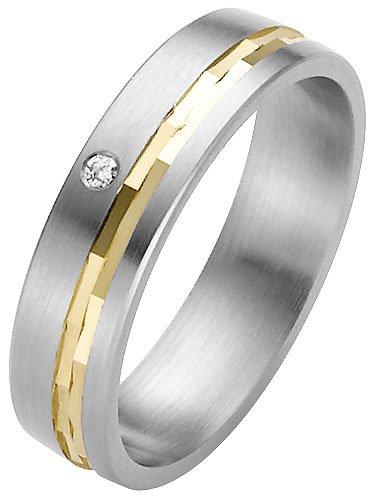 ladies stainless steel wedding ring