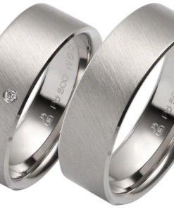 Wide Palladium Wedding Ring