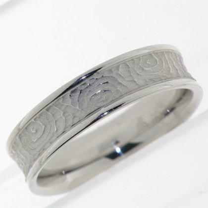 Mens Modern Wedding Ring
