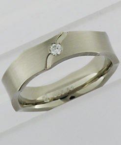 Ladies Palladium Wedding Ring
