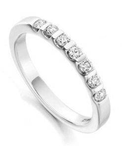 Half Eternity Diamond Wedding Ring