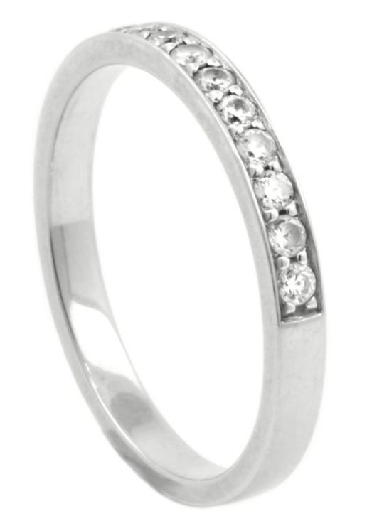 HALF ETERNITY DIAMOND WEDDING BAND