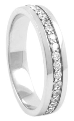 Half Eternity Wedding Ring