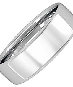 6mm Bombe Court Wedding Ring