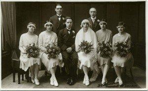 Formal Wedding Photograph