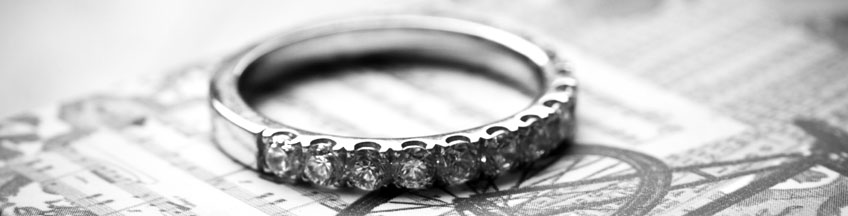 Diamond Wedding Rings are pthe perfect match for any engagement ring.