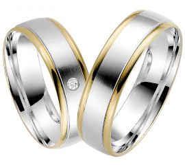 Today's wedding rings are available in a whole range of metals and finishes
