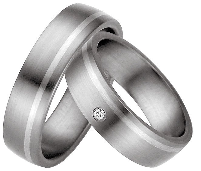 Titanium wedding ring is an affordable choice