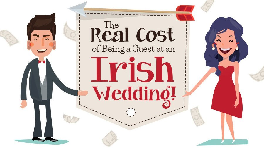 Cost of going to an Irish wedding.