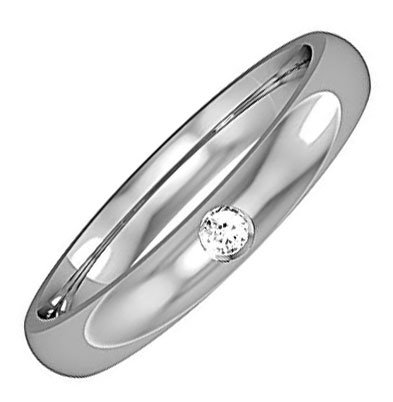 Diamond-Set Wedding Ring