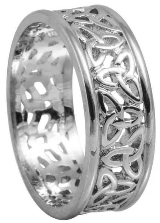 Ladies Trinity Knot Wedding Ring
