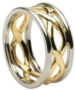 Celtic Infiinity Knot Wedding Ring