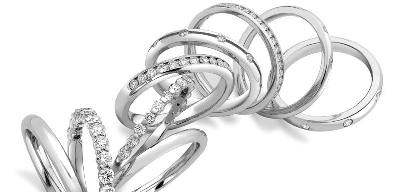 diamond wedding rings