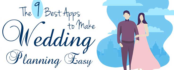 Best apps for wedding planning