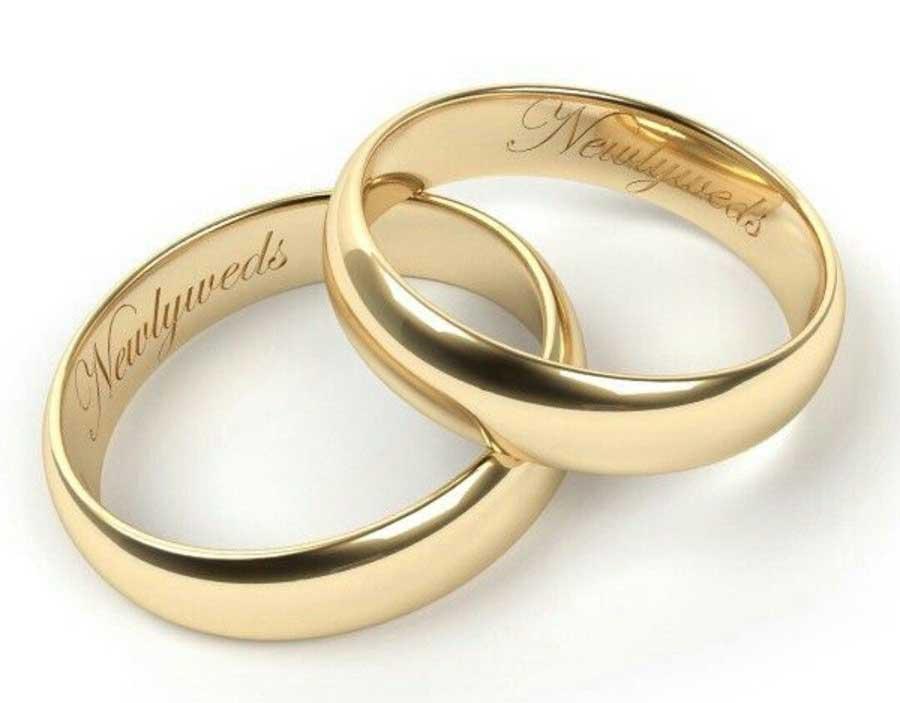 Traditional Wedding Ring Set